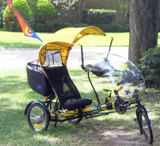 [ IMG] & Need help with ideas building a Trike canopy | Recumbent Riders ...