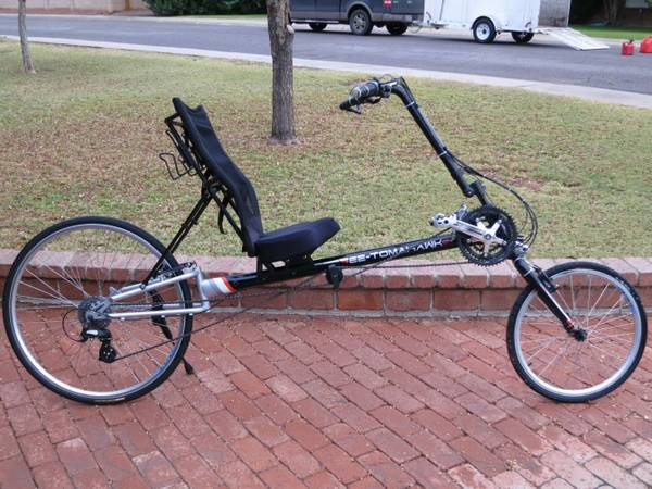Sun Ez Tomahawk Cx 24 Speed Recumbent Bike 2009 Like New Condition Very Low Miles Includes Computer A Steal At This Price