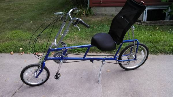 Sun Ez 1 Super Cruzer Recumbent Bike Designed By Easy Racers Inc Blue Color Excellent Condition Original Manuel If You Any Questions Call 612