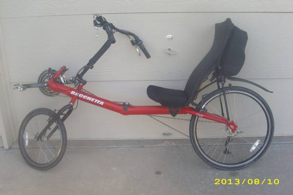 Clbot Cl Bacchetta Recumbent Bicycle For Sale Independence Mo