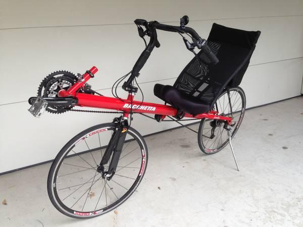 Clbot Cl Bacchetta Strada Recumbent Bike 2007 For Sale