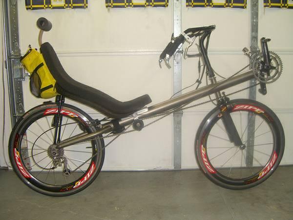 Clbot Cl Bacchetta Ti Aero Recumbent Bike For Sale Howell
