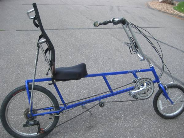 Its A 24 Speed Bike With An Adjustable Seat Both The Distance Of The Seat From The Pedals And The Recline Angle Can Be Changed