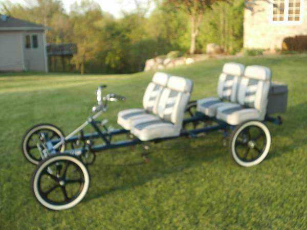 CL Rhoades Car 4 Wheel 4 Seat Bicycle (Pleasant